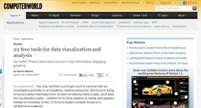 Tools for data visualization